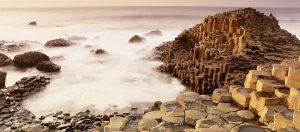 Séjour dépaysant en Irlande, la côté de Giant causeway