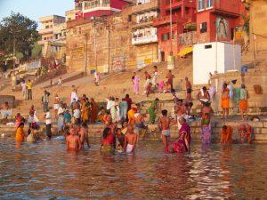 Inde Varanasi village sacré