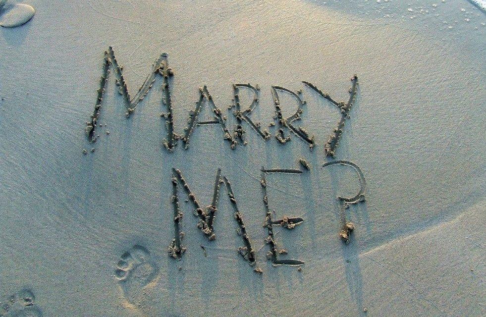 Faire sa demande en mariage lors d'un voyage en amoureux